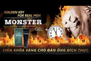 Gel Monster chìa khóa vàng cho đàn ông đích thực