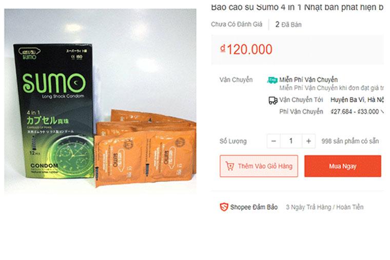 Giá bcs sumo trên thị trường hiện nay