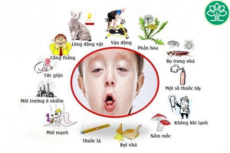Cha mẹ cần lưu tâm đến trẻ để phát hiện sớm bệnh hen phế quản