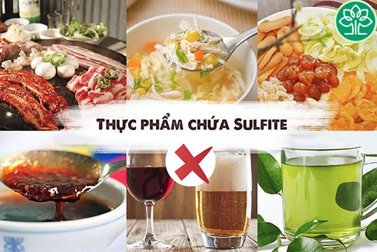 Thực phẩm nhiều sulfite – chất bảo quản thực phẩm