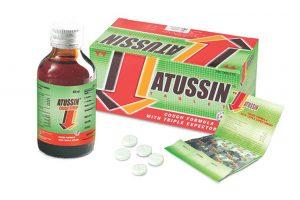 Hình ảnh thuốc ho Atussin