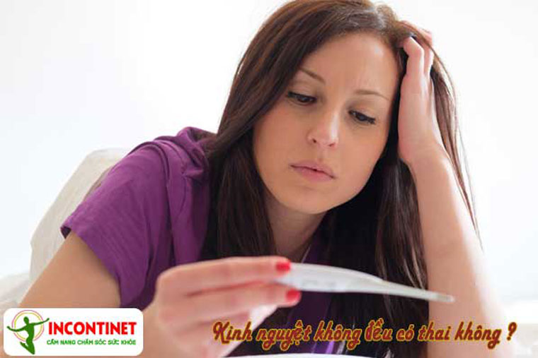 Kinh nguyệt không đều có thai không