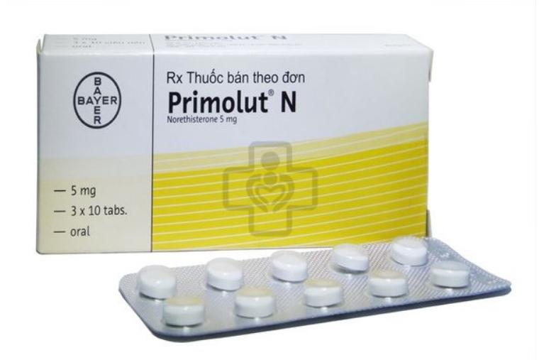 Primolut n (3vi x 10vien) có tác dụng trong điều trị các vấn đề về hormon