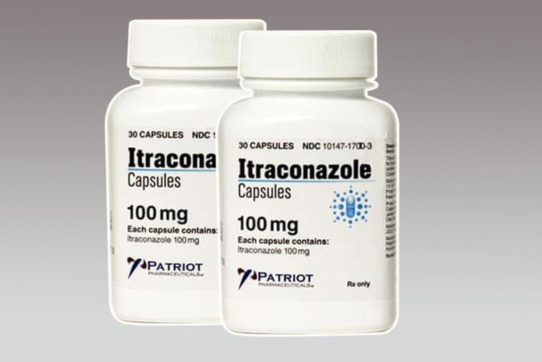 Thuốc trị hắc lào Itraconazole