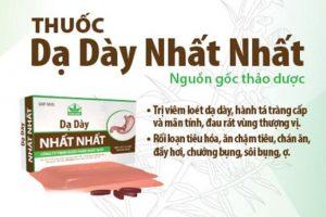 Thuốc dạ dày nhất nhất là sản phẩm do Công Ty TNHH Nhất Nhất nghiên cứu và sản xuất.