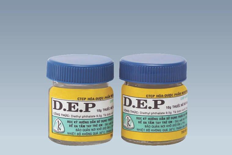 Hình ảnh thuốc D.E.P
