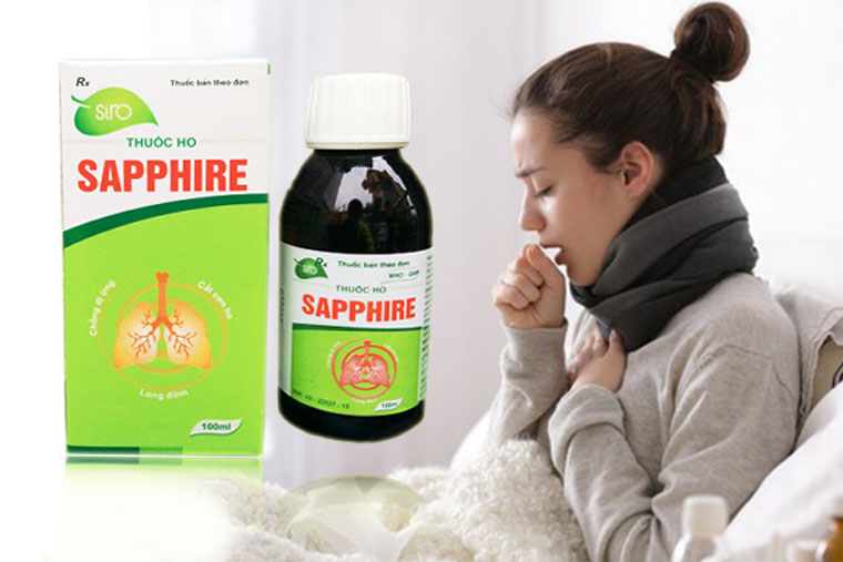 Thuốc ho Sapphire đặc trị các bệnh hô hấp