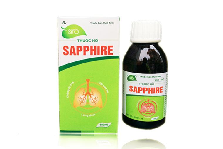 Hình ảnh thuốc ho Sapphire