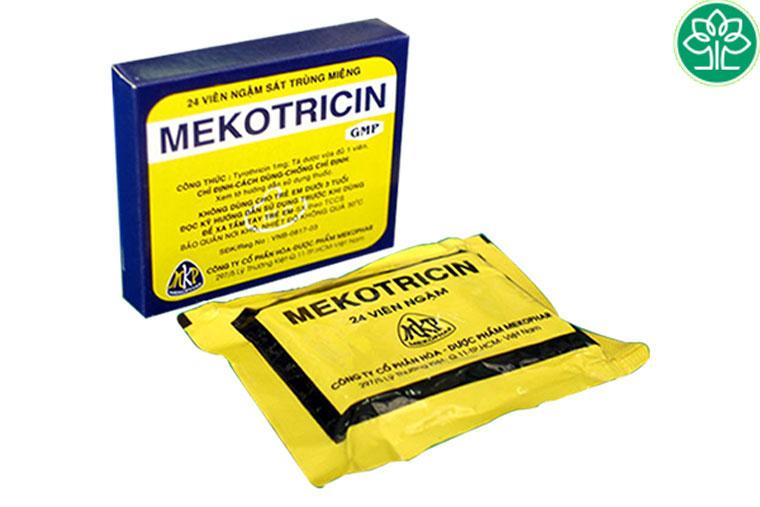 Thuốc ngậm ho mekotricin
