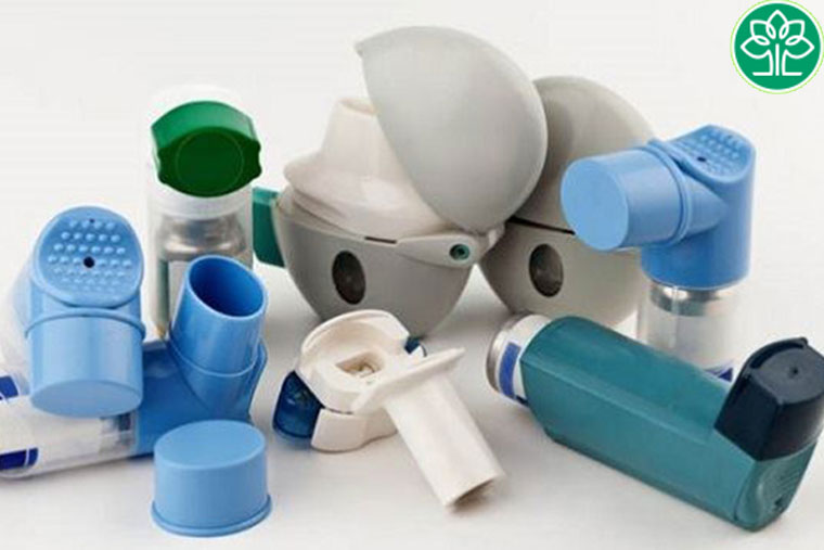 Bình thuốc xịt cắt cơn hen suyễn được thiết kế nhiều kiểu dáng khác nhau