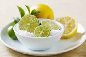 chữa ho bằng chanh & muối